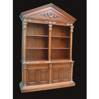 Indonesia furniture manufacturer and wholesaler Open bookcase renaissance 4 d