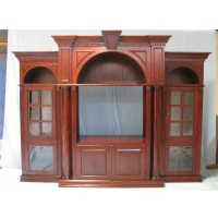 Indonesia furniture manufacturer and wholesaler Bookcase intertainment ceneter