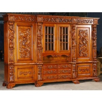 Indonesia furniture manufacturer and wholesaler Bookcase wall unit victorian