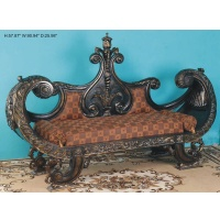 Indonesia furniture manufacturer and wholesaler Royal bench 2 seater