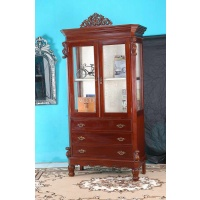 Indonesia furniture manufacturer and wholesaler Cabinet antico 2 doors