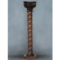 Indonesia furniture manufacturer and wholesaler Corinthian column twist 8