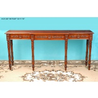 Indonesia furniture manufacturer and wholesaler Console sheraton 6 leg