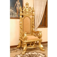 Indonesia furniture manufacturer and wholesaler Throne arm chair