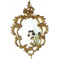 Indonesia furniture manufacturer and wholesaler Gilt Rococo Mirror