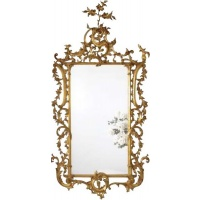 Indonesia furniture manufacturer and wholesaler Gilt Large Mirror French Leaves