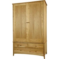 Indonesia furniture manufacturer and wholesaler Harvard Double Wardrobe