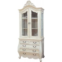 Indonesia furniture manufacturer and wholesaler Chateau Display on Bombe Chest