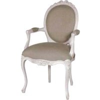 Indonesia furniture manufacturer and wholesaler Chateau Linen Ribbon Armchair