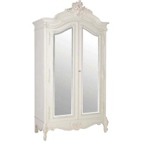 Indonesia furniture manufacturer and wholesaler Chateau 2 Door Mirrored Armoire