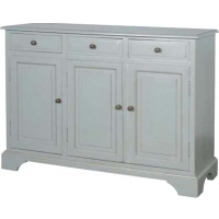Indonesia furniture manufacturer and wholesaler Fayence 3 Door Sideboard
