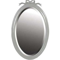 Indonesia furniture manufacturer and wholesaler Fayence Oval Ribbon Mirror
