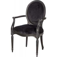 Indonesia furniture manufacturer and wholesaler Moulin Noir Carver Velvet