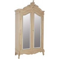Indonesia furniture manufacturer and wholesaler Portofino 2 Door Mirrored Armoire