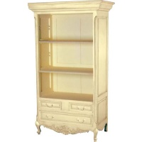 Indonesia furniture manufacturer and wholesaler Valbonne Open Bookcase with Drawers