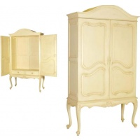 Indonesia furniture manufacturer and wholesaler Valbonne French Wardrobe on Stand