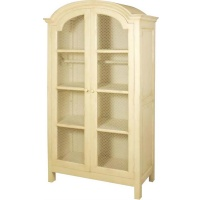 Indonesia furniture manufacturer and wholesaler Valbonne Plain Armoire with Wire