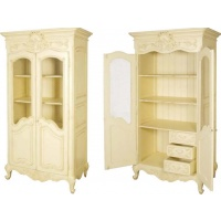 Indonesia furniture manufacturer and wholesaler Valbonne Linen Cupboard with Wire