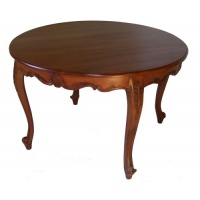Indonesia furniture manufacturer and wholesaler Louis Circular Dining Table