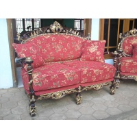 Indonesia furniture manufacturer and wholesaler Sofa italian 3 seaters