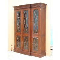Indonesia furniture manufacturer and wholesaler Showcase breakfront 3 doors