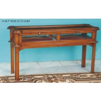 Indonesia furniture manufacturer and wholesaler Table display 510