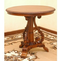 Indonesia furniture manufacturer and wholesaler Table round monica