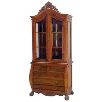 Indonesia furniture manufacturer and wholesaler bombe cabinet