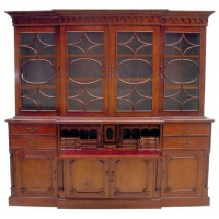 Indonesia furniture manufacturer and wholesaler bookcase secretary